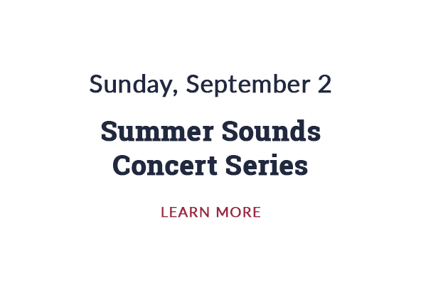 Summer Sounds Concert Series (Labor Day)